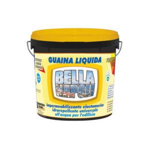 Bella Napoli Guaina liquida elastomerica 300% trasparente Industria Colori Napoli