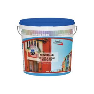 Mineralsil Pittura ai silicati di potassio Industria Colori Napoli