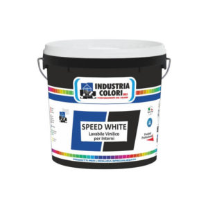 Speed White Lavabile vinilico per interni Industria Colori Napoli