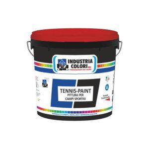 Tennispaint Pittura per campi sportivi Industria Colori Napoli